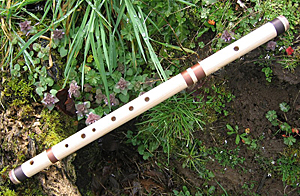 Maple Walnut Bansuri